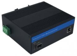 Fast Ethernet Industrial Grade Fiber Media Converter