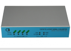 4 ports TCP/IP to RS-232/422/485 converter
