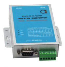 Industrial Class Wall-Mounted Photo-isolation RS-232/RS-422/RS-485 Interface Converter