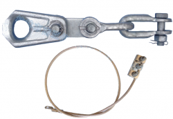 OPGW Tension Clamp (RTS:120KN)