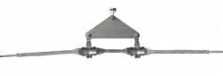 OPGW Cable Double Suspension Clamp