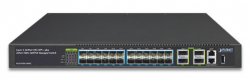 Layer 3 24-Port 10G SFP+ + 4-Port 100G QSFP28 Managed Switch
