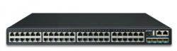 Layer 3 48-Port 10/100/1000T + 4-Port 10G SFP+ Stackable Managed Switch