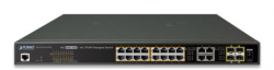 16-Port 10/100/1000T Ultra PoE + 4-Port Gigabit TP/SFP Combo Managed Switch